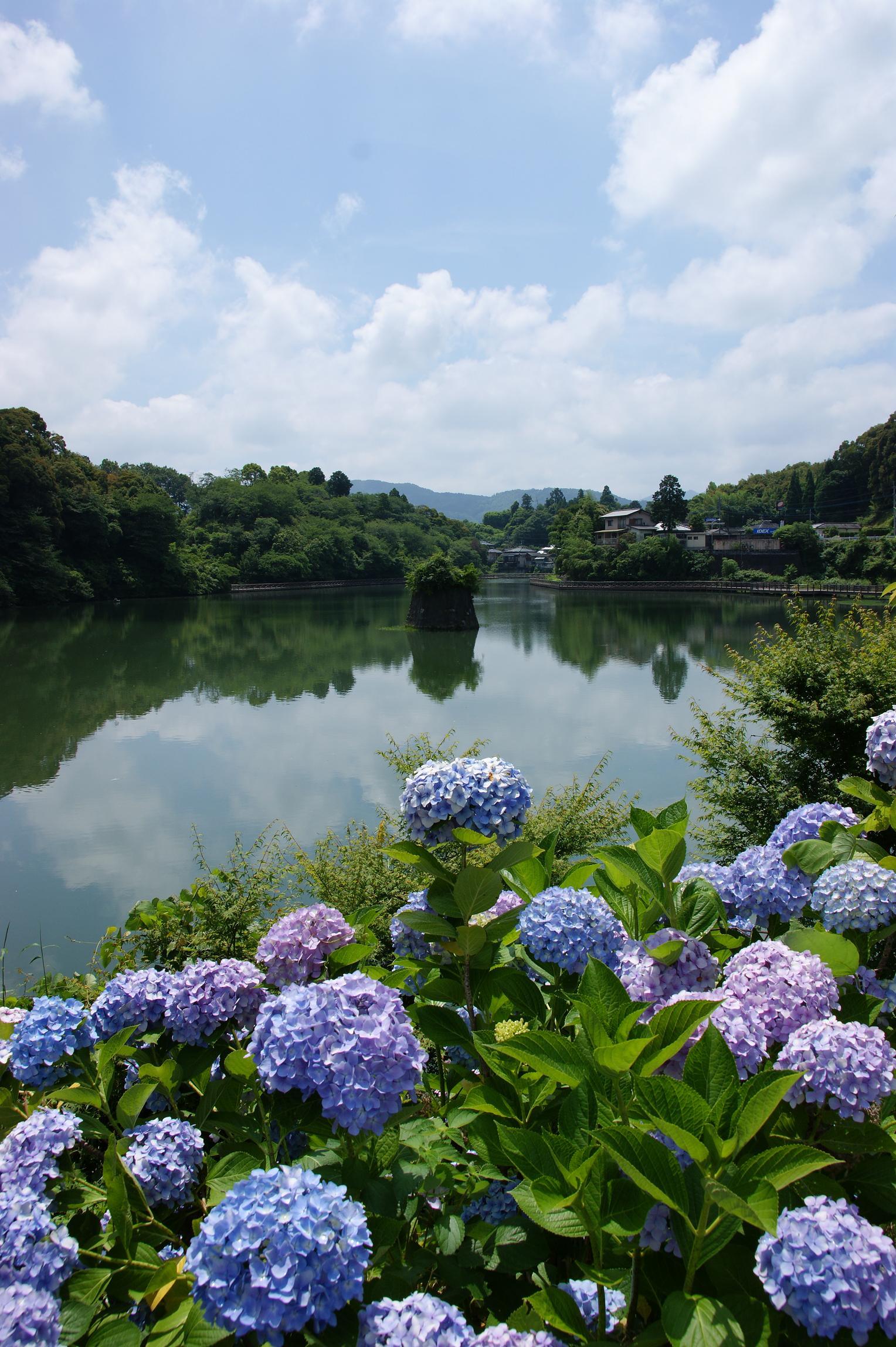 豊野町 鐙ヶ池